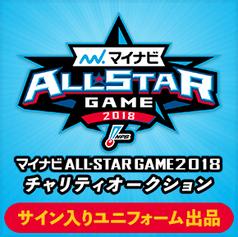 マイナビオールスターゲーム2018 チャリティーオークション