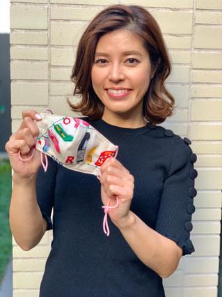 フリーアナウンサー 神田愛花さん