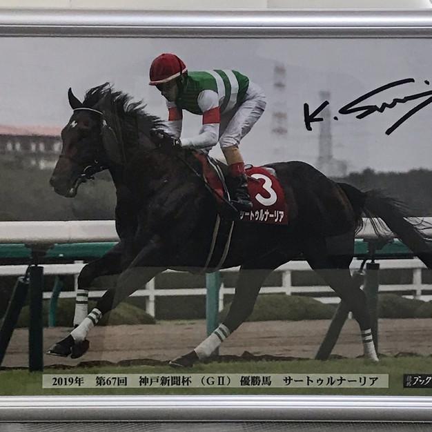 ③サートゥルナーリア号2019年神戸新聞杯優勝パネル