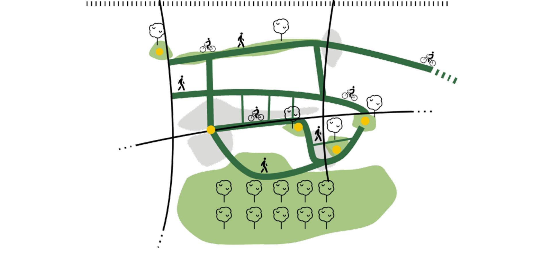 LAP Sassa - infrastruttura verde