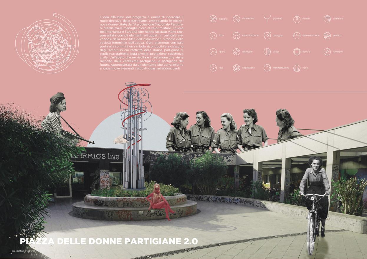 piazza delle donne partigiane 2.0