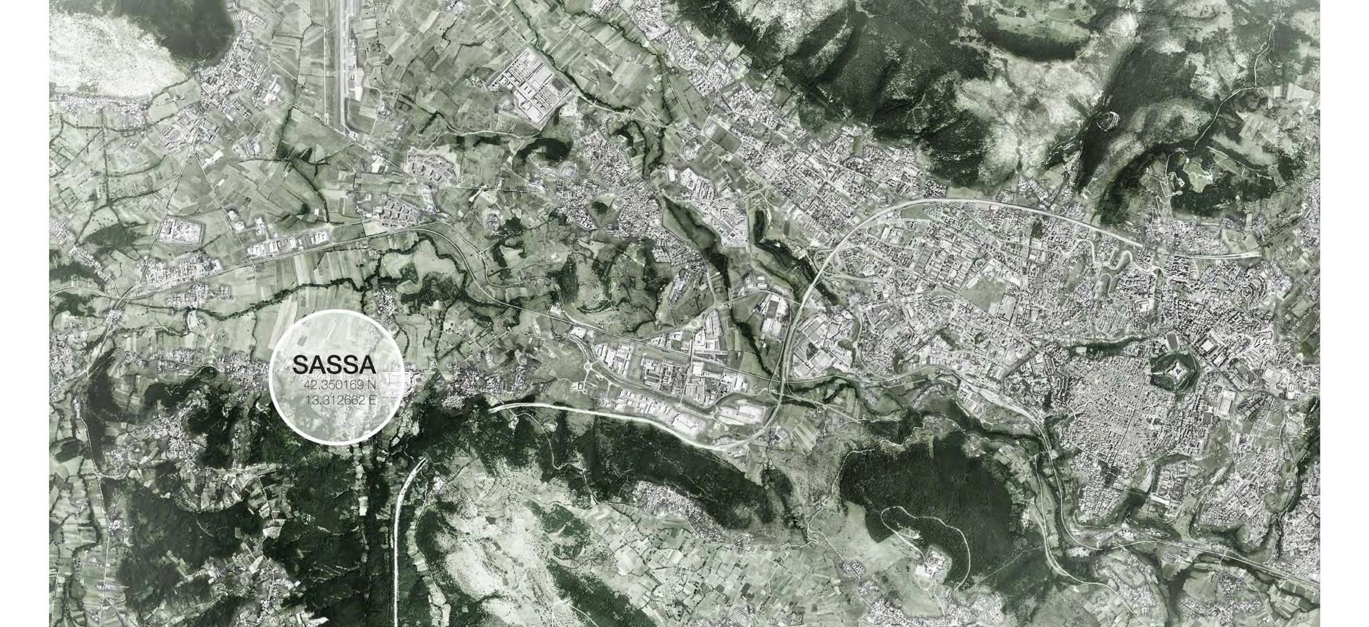 LAP Sassa - inquadramento territoriale