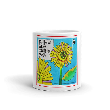 Excite glossy mug