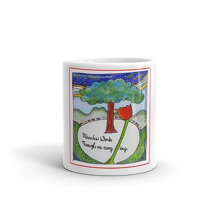 Miracles glossy mug