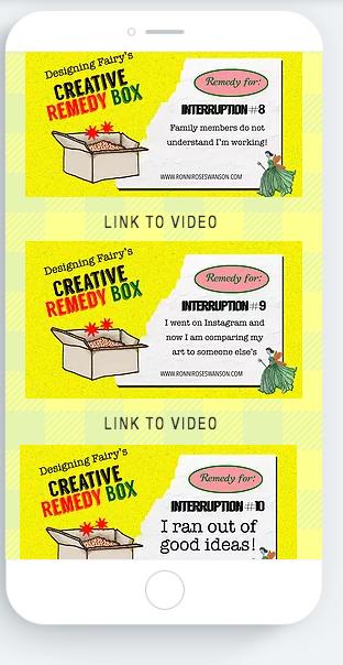 Creative Remedy Box