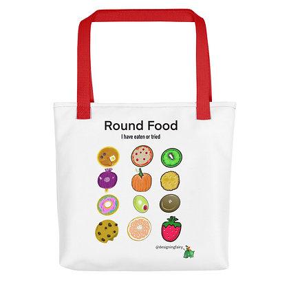 Round Foods Tote bag