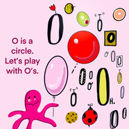 O is for alphabet series