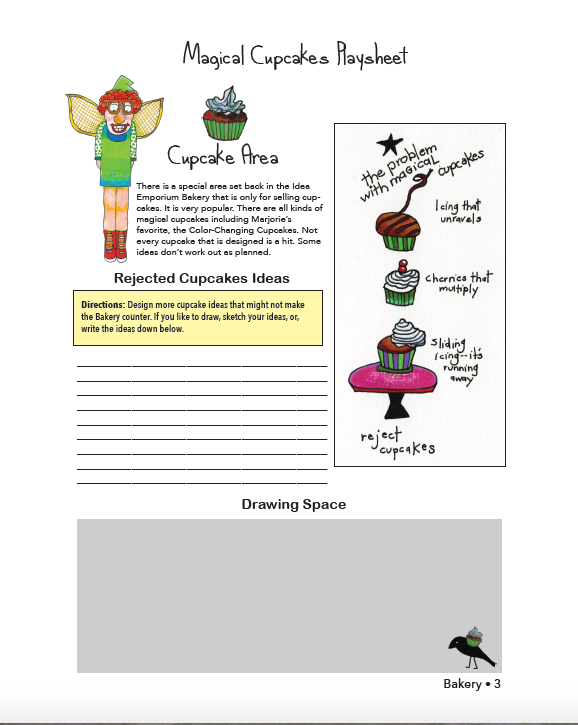 The Idea Emporium activity book