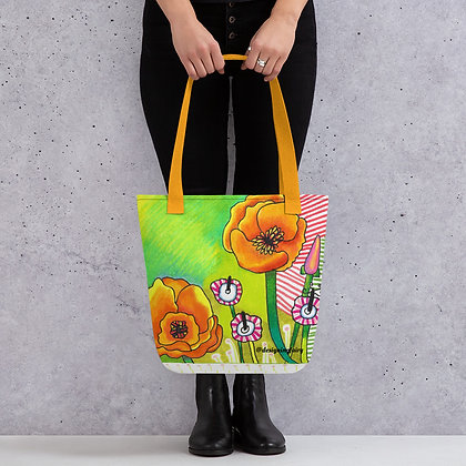 Poppy Possibility Summer Tote bag