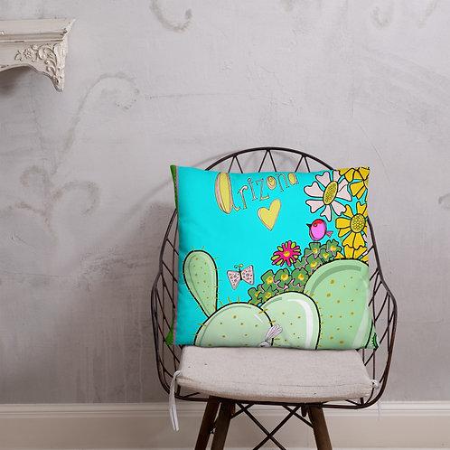 I love Arizona turquoise pillow