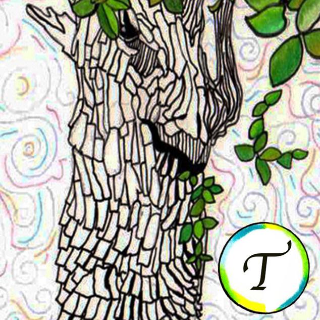Tree Spirit card