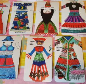 Fairy dresses cards