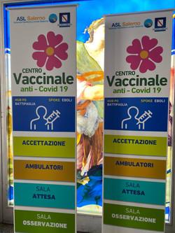 totem percorso vaccinale idea spazio