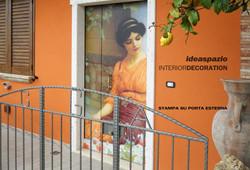 decorazione porta