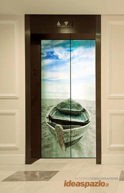 decorazione ascensore