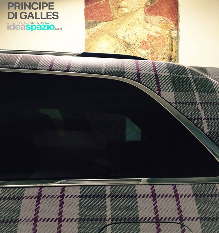 car wrap principe di galles