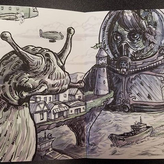 Fold out book 2 spread 07 #sketchbook #d