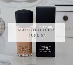 Mac Studio Fix Fluid Dupes