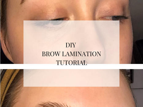How to do your own Brow Lamination
