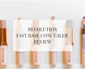 Makeup Revolution Fast Base Concealer Review