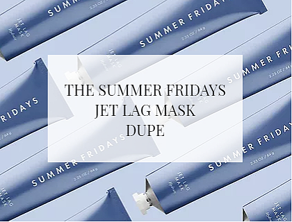 The Summer Fridays Jet Lag Mask Dupe