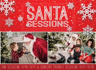 Sensory Friendly Santa Sessions