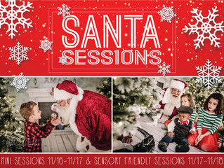 Sensory Friendly Santa Sessions