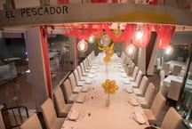 Mesa decorada para evento