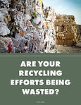 Cover Page of Article featuring the title and a picture of stacked recyclables.
