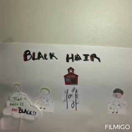 Black Hair - by Ashley Swaby