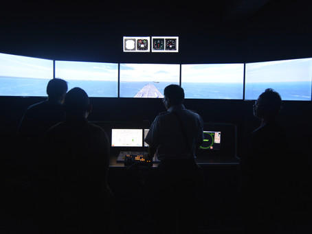 Simulator BMT Rembrandt di SMK Pelayaran Dewaruci Jakarta