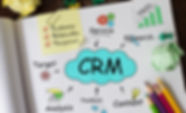 Notebook with Toolls and Notes about CRM