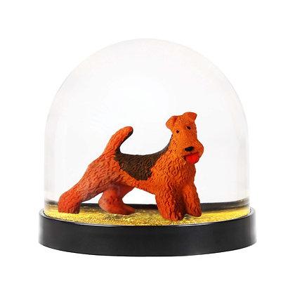 & KLEVERING - Boule à neige Chien terrier