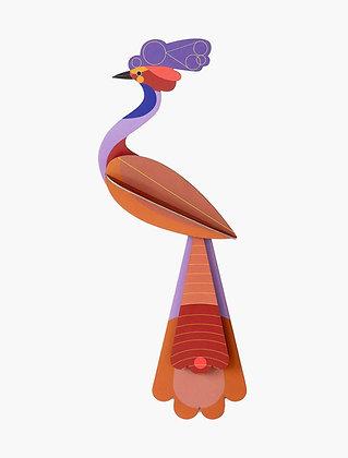 Oiseau 3D à construire - Oiseau Savu