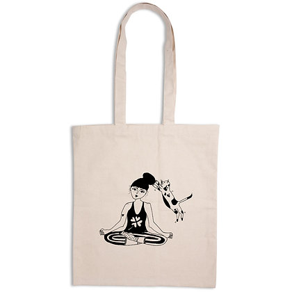 Helen B - Tote Bag Femme zen chat