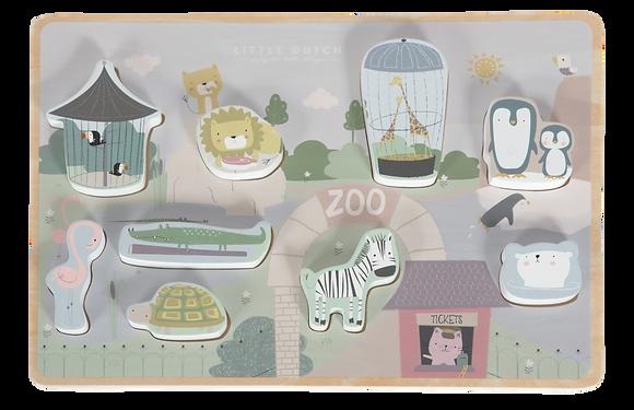 Puzzle à encastrement Zoo