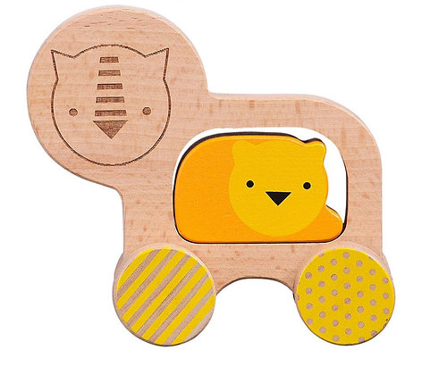 Jouet en bois - Lion