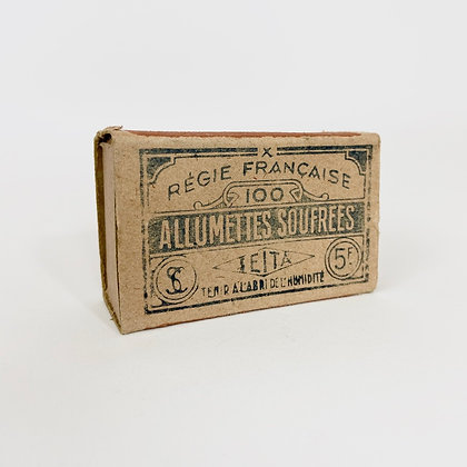 Vintage - Boite d'allumettes Seita