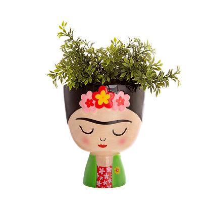 Porte plante Frida Kahlo Couleurs