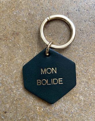 FAUVETTE - Porte-clés vert MON BOLIDE