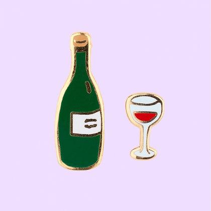 Coucou Suzette - Pins Duo Vin
