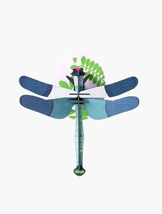 Insecte 3D à construire - Libellule bleue