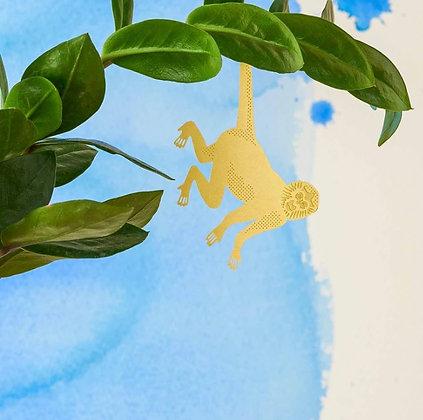 Décoration de plante Singe