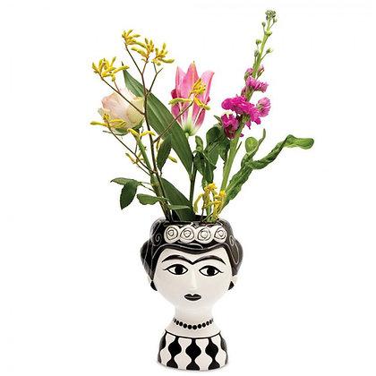 Grand vase Femme noir et blanc