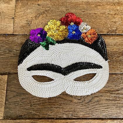 Masque en sequins Frida