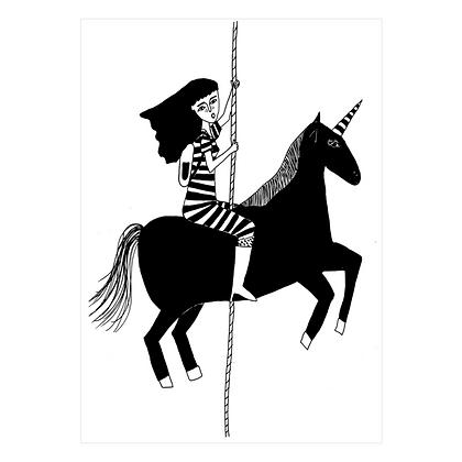 Helen B - Carte postale Licorne