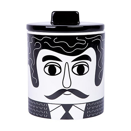 Grand pot avec couvercle Homme
