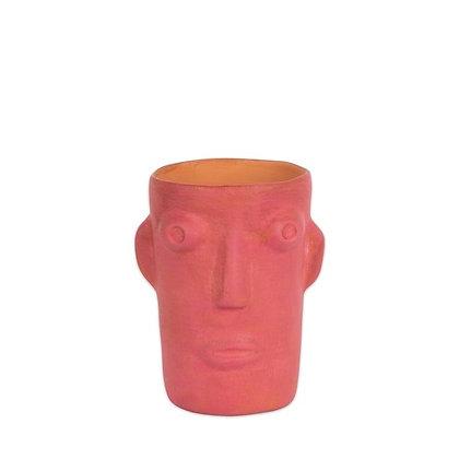 Vase Cabeza Rose