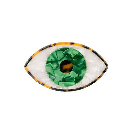 Coucou Suzette - Barrette Oeil Verte