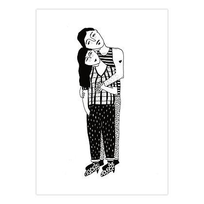 Helen B - Carte postale Couple